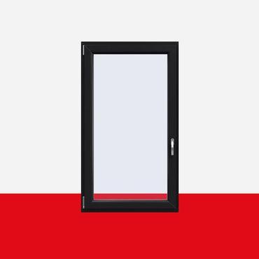 Kunststofffenster Anthrazitgrau (Innen und Außen) Dreh Kipp Fenster 1 flg. – Bild 1