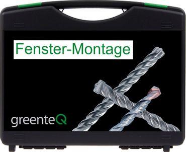 greenteQ - Fenster Montagekoffer - 34 teilig ? Bild 1