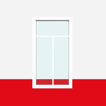 Sprossenfenster Typ 3 Felder Weiß - 1 flg. Festverglasung mit 18mm SZR T-Sprosse ? Bild 1