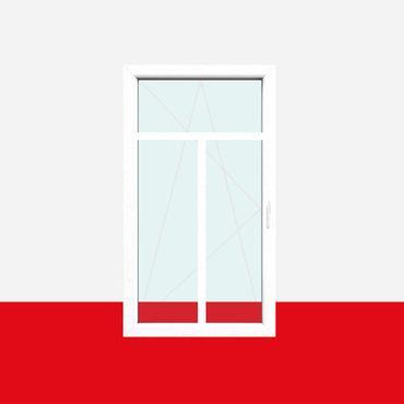 Sprossenfenster Typ 3 Felder Weiß 26mm T-Sprosse 1 flg Dreh-Kipp Kunststofffenster ? Bild 2