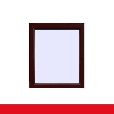 Festverglasung einflügeliges Fenster | Braun Maron ? Bild 1