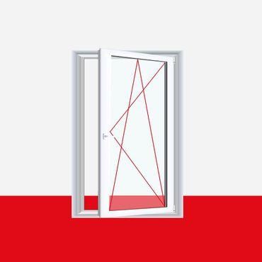 Fenster Milchglas - 1 flg. Dreh Kipp  Kunststofffenster Ornament Milchglas  – Bild 1