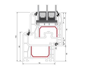 Kellerfenster Basaltgrau 4 Sicherheitspilzzapfen abschließbarer Griff / Dreh/Kipp ? Bild 10