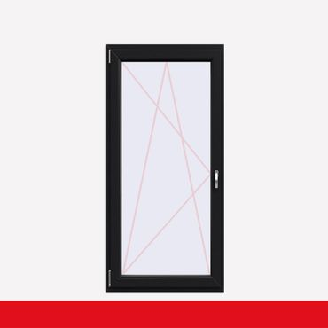 1 flügelige Balkontür Kunststoff Anthrazitgrau (beidseitig) Dreh-Kipp ? Bild 1