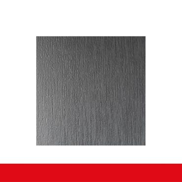 2-flüglige Balkontür Kunststoff Stulp Aluminium Gebürstet beidseitig ? Bild 5