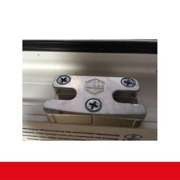 2-flüglige Balkontür Kunststoff Stulp Aluminium Gebürstet beidseitig ? Bild 8