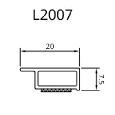 Drutex - Deckleiste - 20 - 50 mm - Weiß – Bild 1