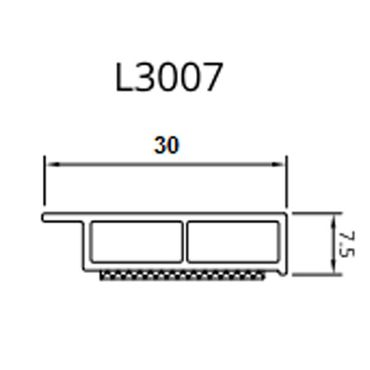 Drutex - Deckleiste - 20 - 50 mm - Weiß ? Bild 2