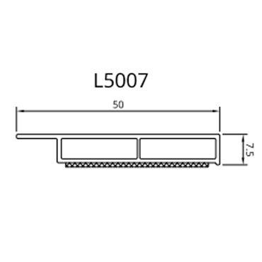 Drutex - Deckleiste - 20 - 50 mm - Weiß ? Bild 4