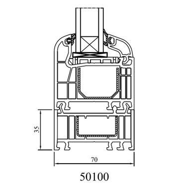 Drutex - Rahmenverbreiterung für Iglo 5, Iglo 5 Classic und Iglo Light Profile – Bild 2