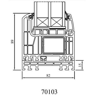 Drutex - Rahmenverbreiterung für Iglo Energy und Iglo Energy Classic Profile ? Bild 1