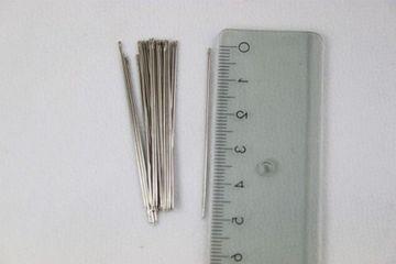 25 Modistennadeln Nähnadeln Nadel Stahl 6 silberfarbig 0,70 x 50 mm Prym