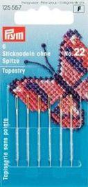 Sticknadeln ohne Spitze Stahl 22 silberfarbig 0,90 x 40 mm