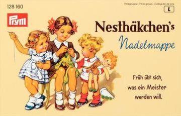 29 Nähnadeln Stopfnadel Sortiment Stahl Nadelmappe NostalgieNesthäkchen 128160