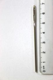 Durchziehnadeln Stahl silberfarbig 1,90 x 70 mm 1 Stück !!!