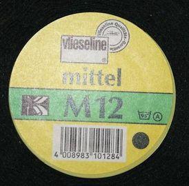 M 12 Vließ Freudenberg Schwarz mittelfeste Näheinlage