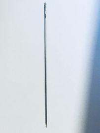 Webernadel Kugelspitze   Nadeln  7,6 cm 2 Stück -Hergestellt in Deutschland- Webnnadel