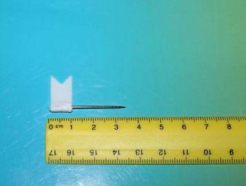 Stecknadeln Fahne Fähnchen Pinnwandnadeln Makiernadeln Stecknadeln 50x weiß
