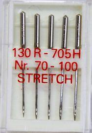 5 Nähmaschinennadeln Flachkolben 130/705 Stretch Strech Stretsch