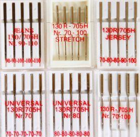 30 Nähmaschinennadeln Flachkolben 130/705 80er 70er 70-100 Jeans Stretch Jersey