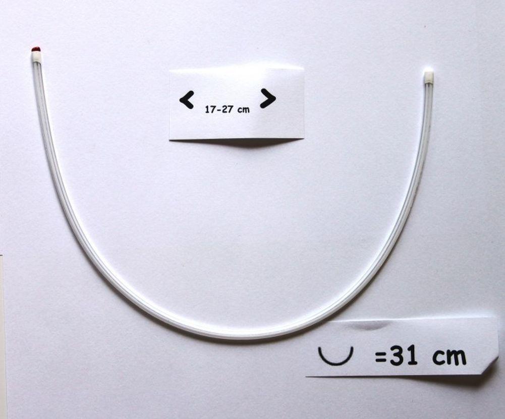 BH Bügel Ersatzbügel versch.Größen flexibel Kunststoff Allergiefrei 2,22€//1PR