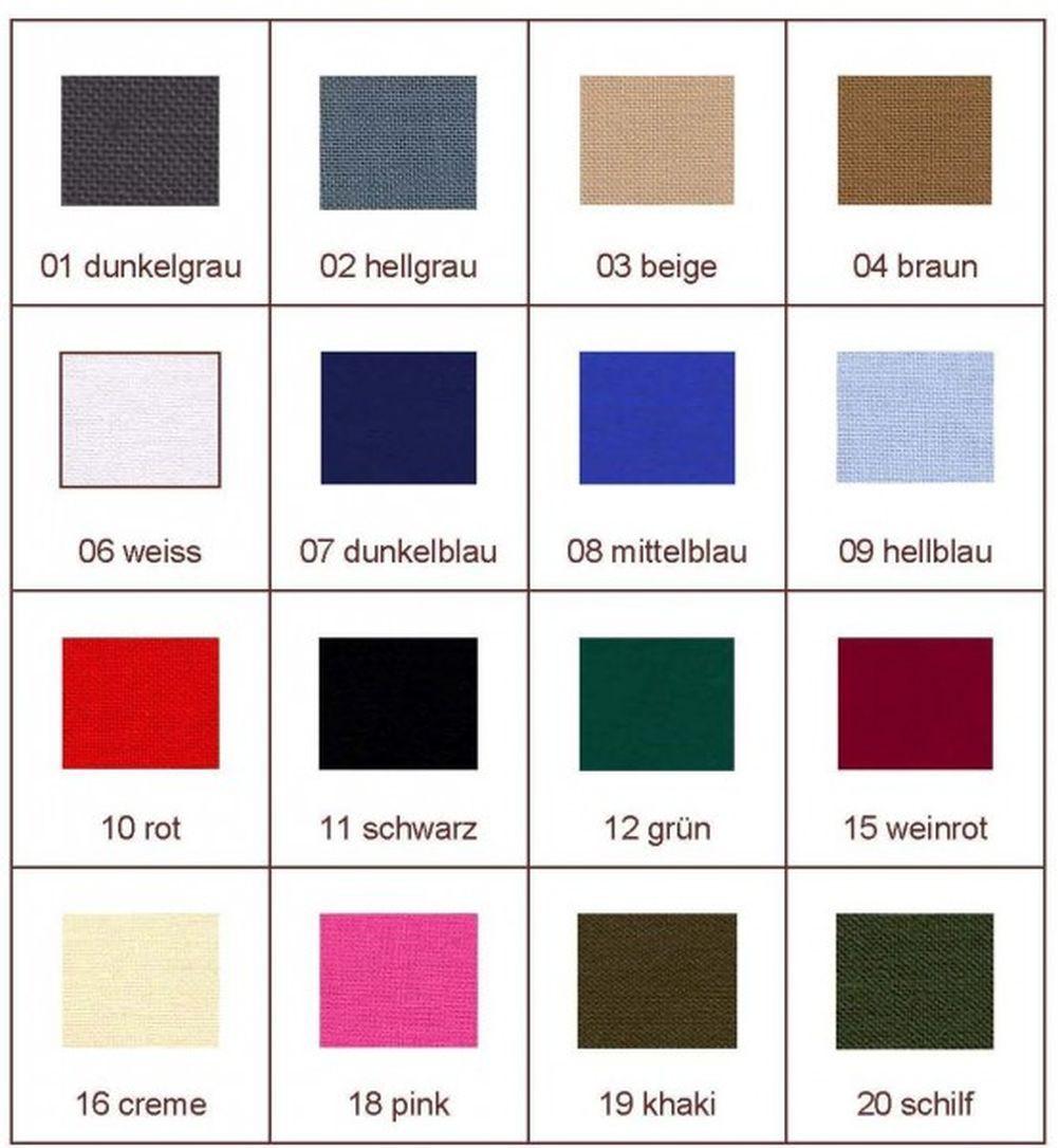 Zephir Aufbügelflicken feiner Stoff viele Farben Patches 30x6