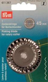 Qualitäts Ersatzklinge für Rollschneider Zacken 45 mm