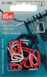 Maschenmarkierer Kunststoff farbig sortiert