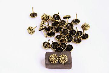1 Qualitäts Ziernagel - Made in Germany- 11mm Ornamente