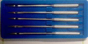 5 Nähmaschinennadeln Rundkolben 287 -100