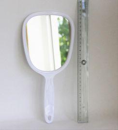 Handspiegel Griffspiegel Glasspiegel 28 cm weiß