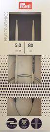 Rundstricknadel Ergonomics 20 cm in den Stärken 2,0 bis 12,0 mm