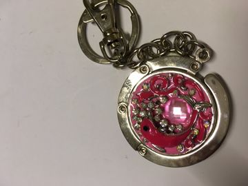 Handtaschenanhänger, Delfin pink,Tisch Garderobe Schlüsselanhänger Handtaschenaufhänger