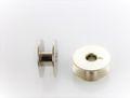 5x Nähmaschinen Spule metall  für Umlaufgreifer 21 x 9 mm Veritas Textima