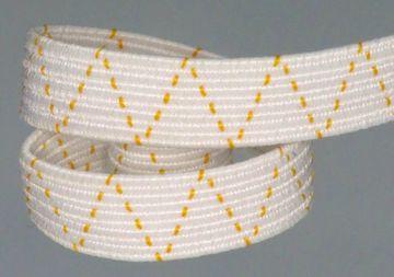 1m bis  300m  Gummilitze gummi gummiband schlüpfergummi 7 mm Flechtlitze