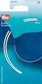 BH Bügel Ersatzbügel Länge 20.5 cm x 13 cm Qualität 991804 weiß Prym