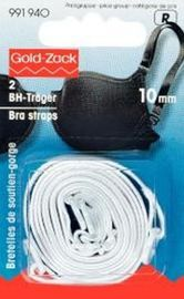 BH-Träger Ersatz 2 Stück 10 mm breit  weiß