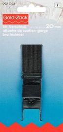 BH-Verschluß Hautschutz 3-f.   20 mm schwarz