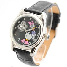 disney-ladies-automatic-watch-with-daisy-theme-dais-st-d-ss
