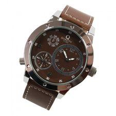 quality-time-herren-armbanduhr-quarz-dual-time-uhr-leder-braun-5427795/herrenuhren/quarz