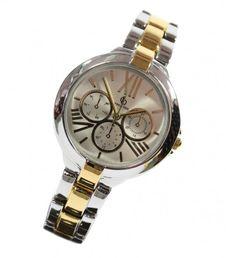 crystal-blue-damen-armbanduhr-quarz-chrono-design-bi-color-silber-gold-5428974/damenuhren/quarz