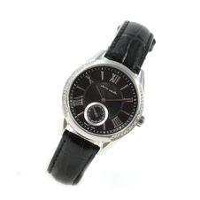 pierre-cardin-ladie-s-bracelet-wristwatch-pc106302s01-roundes-gehaeuse-covererd-with-white-rhinestones-romane-ziffern-blackes-leather-bracelet