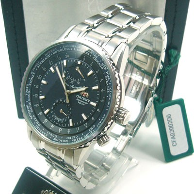 Power Cfa02002d0 Time Day Orient Gmt World Ausverkauft Reserve 1JFKlcT5u3