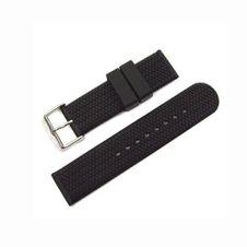 zubeh-r/uhren-baender/kautschuk-silikon/kautschukband-schwarz-dornschliesse-bandanstoss-20-mm