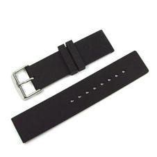 zubehoer/uhren-baender/kautschuk-silikon/kautschukarmband-schwarz-dornschliesse-bandanstoss-24-mm