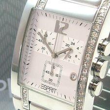 esprit-houston-silver-femmes-chronographe-es000de2003