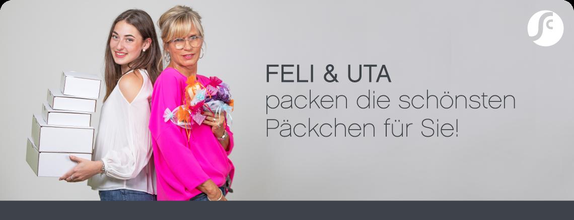 Uta & Feli packen die schönsten Pakete