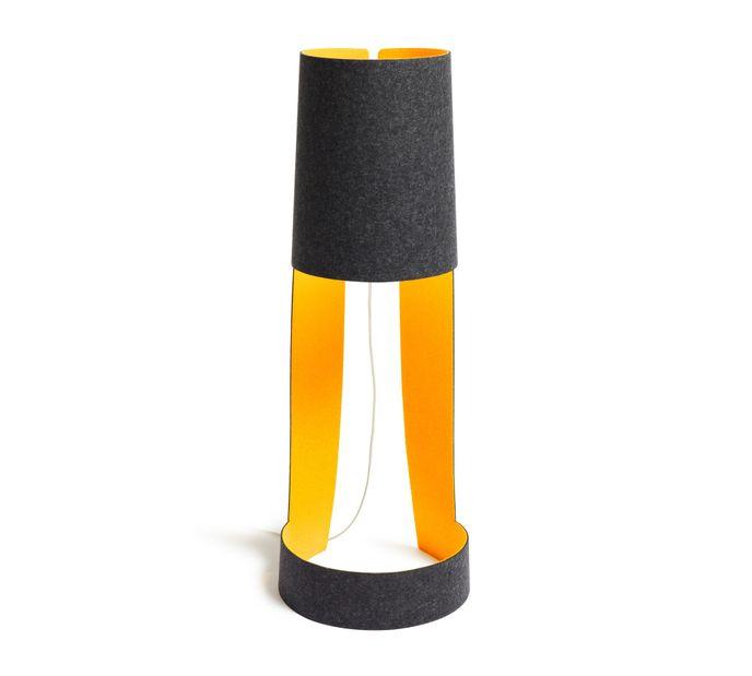 Domus MIA XL Stehleuchte Graphit / Orange