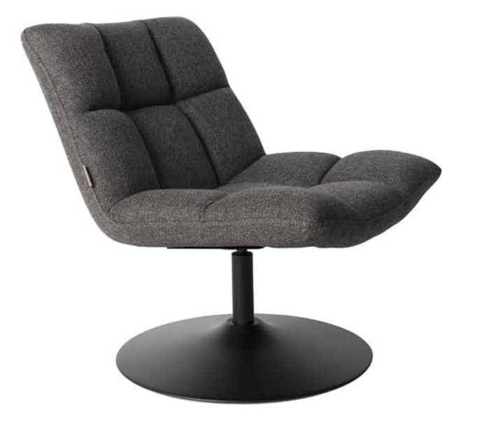 Dutch Bone Sessel BAR DARK GREY