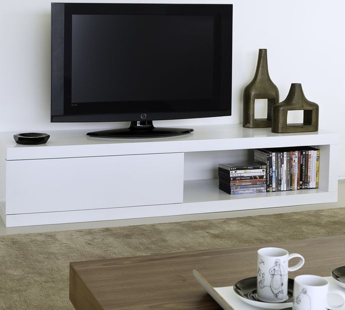 TemaHome Atoll TV-Lowboard in Pure White